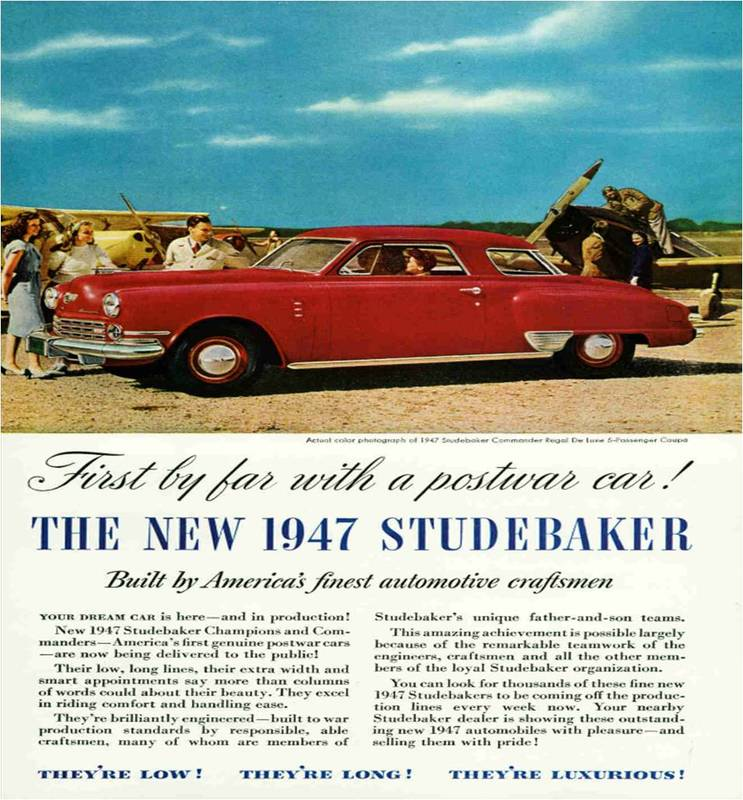 Car Ads Published in National Geographic Magazine (1946-2008) by S ...
