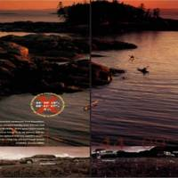 Ford Advertisement in January 2000 National Geographic Magazine